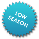 "Blue ""low season rates"""