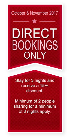 Direct Bookings Only
