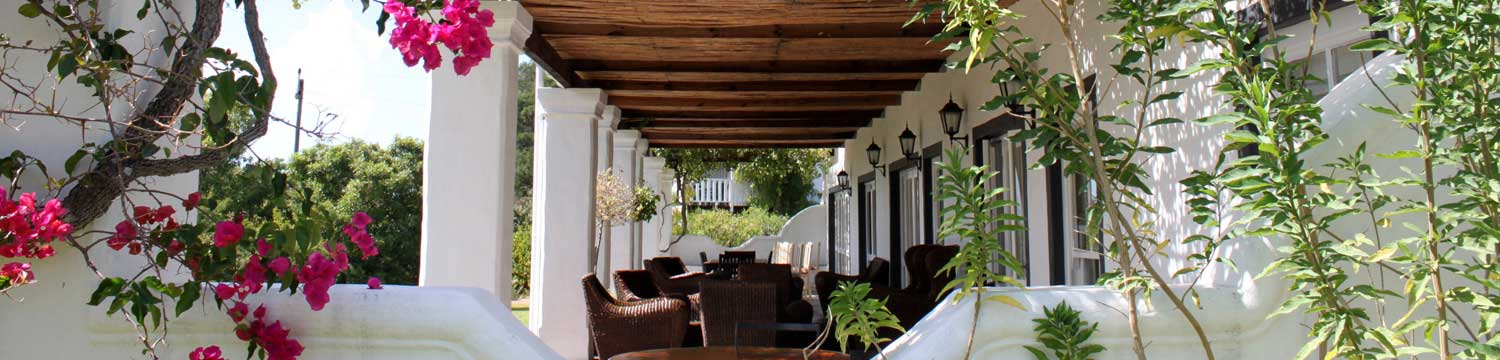 Fynbos Ridge Guest House Patio
